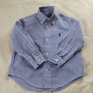 Ralph Loren little boys' shirt size 2-2T